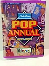 Music Reference Ser Chart History Pop Annual 1955 1999 By