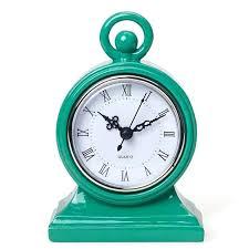 cool table clocks table clocks cool clocks retro table clock table top clocks green table table