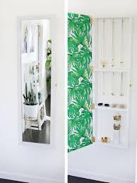 Diy Jewelry Cabinet Jewelry Storage Mirror Diy A Beautiful Mess