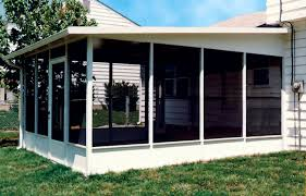 screened porch kits screen rooms for decks aluminum insulated roof panels