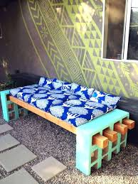 diy outdoor furniture cushions modest patio furniture cushions cinder block outdoor bench make homemade outside diy outdoor furniture cushions