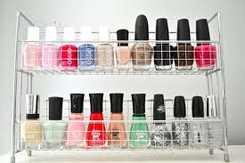 nail polish organizer 15 clever diy makeup storage organization ideas