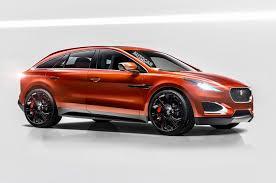 ... All-electric Jaguar F-Pace Autocar Rendering  D