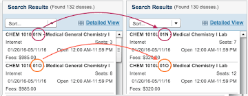 organic chemistry online course labs chem une online  section numbers must match for lecture and lab