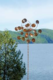 Small Picture Markcastroco Fiberglass Garden Windmills U0026 Wind Spinners