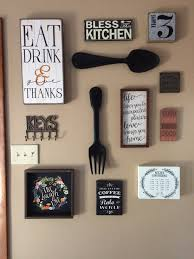 Country Kitchen Gallery My Kitchen Gallery Wall All Decor From Hobby Lobby And Ross