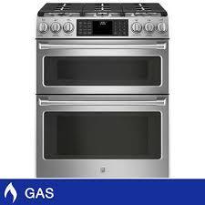 side by side double oven electric range. Interesting Oven GE Caf 30 In Side By Double Oven Electric Range N