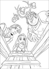 Rapunzel Kleurplaat Disney