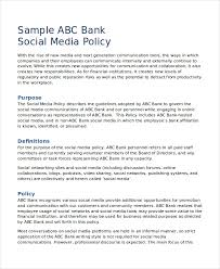 Policy Writing Template Policy And Procedure Template Examples ...