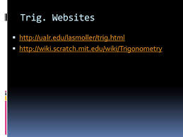 alicia stith what is trigonometry  a type of math a  7 trig websites