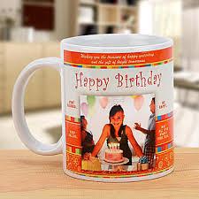 happy bday personalized mug send gifts to kolkata