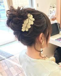 浴衣に合う簡単な髪型29選ロングボブミディアムのヘアアレンジは