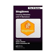Blogdown : Creating Websites With R Markdown - (Paperback) : Target