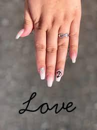 boyfriend initials on nails