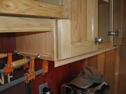 Under Cabinet Molding Installing Molding For Under Cabinet Lighting A Concord Carpenter
