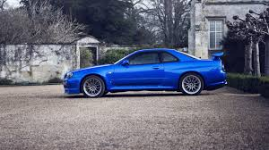 nissan skyline 2014 blue. Beautiful Nissan Cars Parking Rims Blue Cars Nissan Skyline GTR R34 Wallpaper  1920x1080  222409 WallpaperUP On 2014 Blue