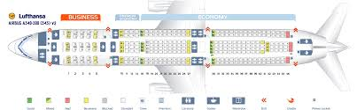 galery of airbus industrie a340 300 seat map airbus a340 600
