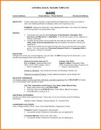 Resume Friendly Name Examples Whats Good Objective For What Does Resume Look Like Should Name A 12