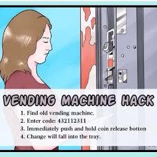 How To Hack Old Vending Machines Impressive Vending Machine Trick Pinterest Vending Machine And Life Hacks
