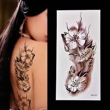 модная женская татуировка на руку плечо удаляемый водонепроницаемый
