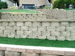 concrete block wall retaining wall block s precast concrete retaining wall blocks cost unique concrete block