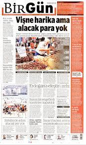 BirGün Gazetesi - BirGün Manşet Oku - Haberler 19 Temmuz 2021