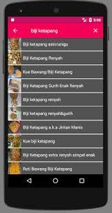 Kue kembang goyang merupakan camilan yang sudah tidak asing lagi di indonesia. Updated Resep Kue Biji Ketapang Android App Download 2021
