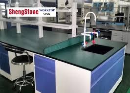 green chemistry modular lab furniture phenolic resin top alkali resistance
