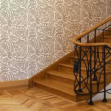 kid wallpaper usa mylar. Amazon.com: J BOUTIQUE STENCILS Large Ethnic Wall Stencil Elroy For DIY, Wallpaper Look And Easy Home Decor Kid Usa Mylar