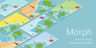powerpoint templates for it morph travel free download powerpoint templates for presentation