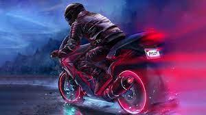 2932x2932 Retro Bike Rider 4k Ipad Pro ...