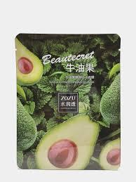 Питательная <b>тканевая маска</b> для лица с экстрактом авокадо от <b>Eva</b>