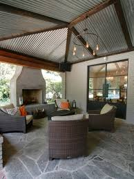 aluminium patio cover surrey: solid patio aluminium metal roof cover design