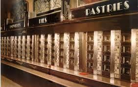 Automat Vending Machine Fascinating Horn Hardart's Automats Offered An Inexpensive Restaurant