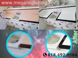 Bathtub Reglazing Los Angeles Mega Reglazing - Reglaze kitchen sink