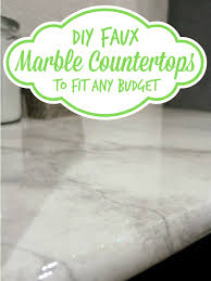 Small Picture 30 DIY Faux Marble Countertops Marble countertops Countertops