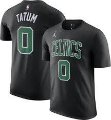Just take a look at his feet. Jordan Men S Boston Celtics Jayson Tatum 0 Statement Black T Shirt Dick S Sporting Goods