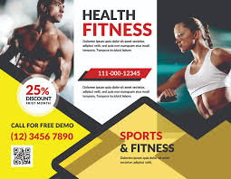 Fitness Brochure Fitness Brochure by sanaimran Design Bundles 1