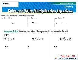 multiplication equation fractions
