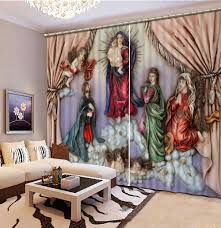 Printed Curtains Living Room Popular Chinese Print Curtains Buy Cheap Chinese Print Curtains