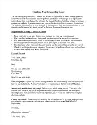 Letters For Scholarships 9 Best Scholarship Thank You Letter Samples Examples