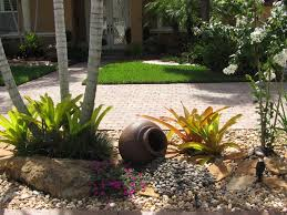 Tropical Rock Garden tropical-landscape