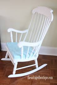 Grandpa\u0027s Rocking Chair Brightened Up for New Baby Nursery. - The ...