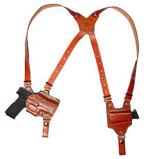 open top double shoulder rig military law enforcement shoulder holster