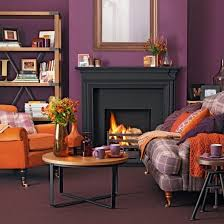 Monochrome and orange living room | Living room decorating ideas |  housetohome.co.uk