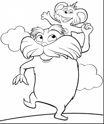 On Lorax Coloring Pages Coloring Pages For Children