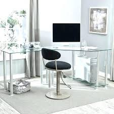 glass desks for home office. Cool Glass Desk A Home Office Furniture Ideas Transparent Compact Computer Real Wood Desks For I