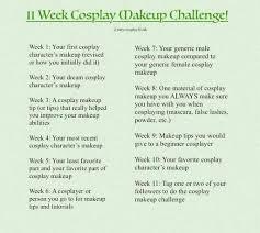 11 week cosplay makeup challenge 5