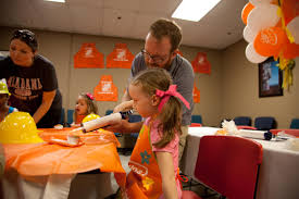 Small Picture Birthday Party at Home Depot Dad Is Learning