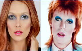 easy david bowie makeup tutorial for halloween